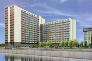 Artist impression of Dandara Flats
